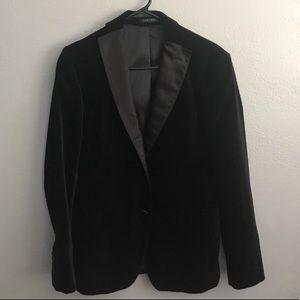 Zara For Men Velvet Blazer
